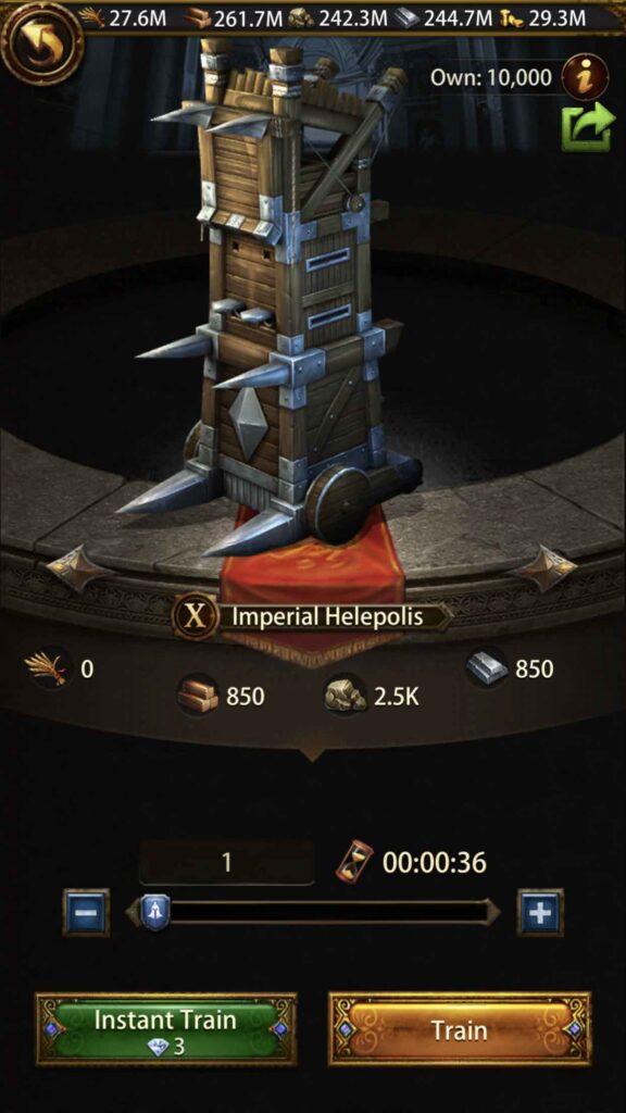 Siege machine